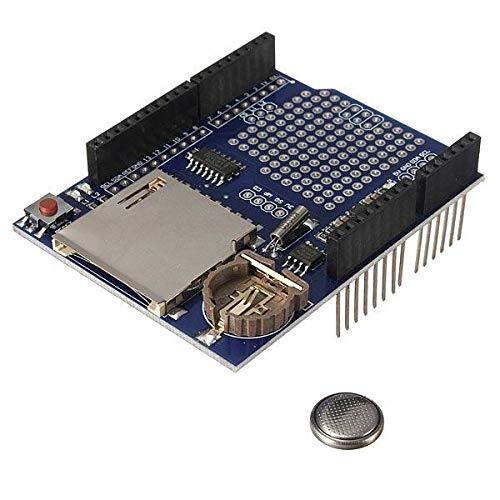 QuickShop Logging Recorder Shield Data Logger Module for Arduino UNO SD Card
