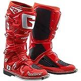 Gaerne SG-12 - Stivali da motocross da uomo, taglia 8, colore: grigio/magnesio/bianco