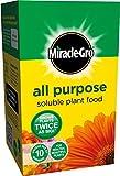 Milagro - gro alimento vegetal soluble todo propósito, crece plantas dos veces más grande... ¡GARANTIZADO!