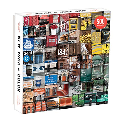 New York in Color. 500 Piece Puzzle