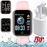 Smartwatch, Reloj Inteligente Pulsera de Actividad Inteligente Impermeable...