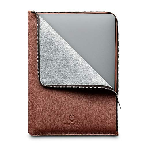 Woolnut WNUT-MBP16-F-522-CB MacBook 16-inch Folio - Cognac Brown