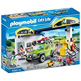 Playmobil City Life 70201 - Stazione di Servizio, dai 4 anni