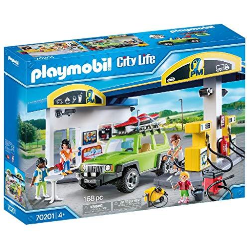 PLAYMOBIL City Life Gasolinera, A partir de 4 años (70201) , color/modelo surtido