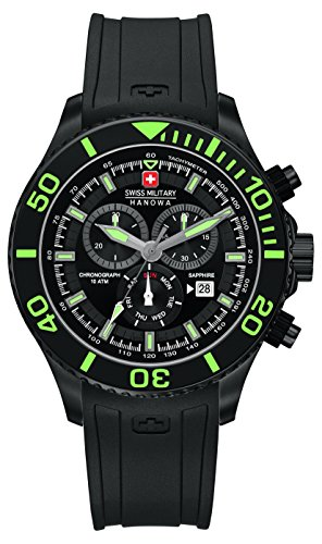 Police. 6-4226.13.007 - Reloj de cuarzo para hombre, correa de silicona color negro