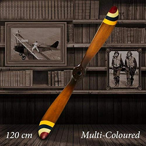 Wooden plane propeller 2 # therapeutic decoration