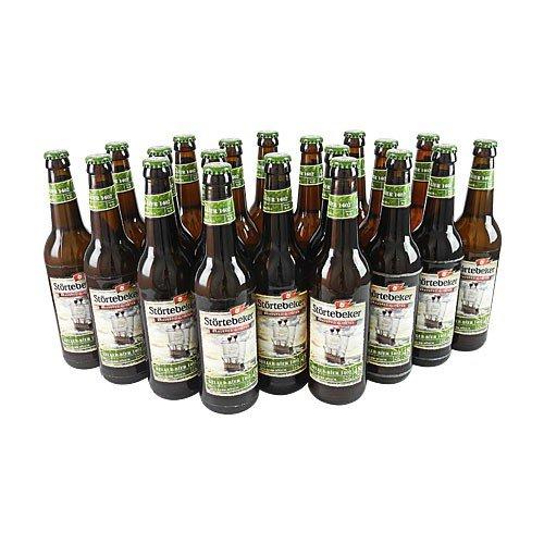 Störtebeker BIO Keller Bier 1402 (20 Flaschen à 0,5 l / 4,8% vol.)