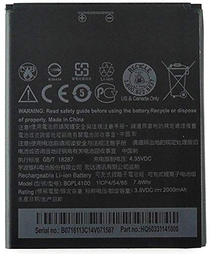 GTEC Mobile Battery for  HTC Desire 526 / HTC 526G Plus/HTC BOPL4100 2000mAh Genuine Desire 526 Battery