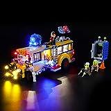 BRIKSMAX Kit de Iluminación Led para Lego Hidden Side Autobús de Intercepción,Compatible con Ladrillos de Construcción Lego Modelo 70423, Juego de Legos no Incluido