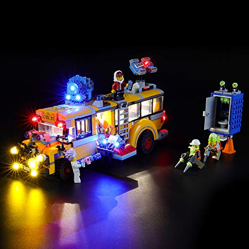 BRIKSMAX Kit de Iluminación Led para Lego Hidden Side Autob