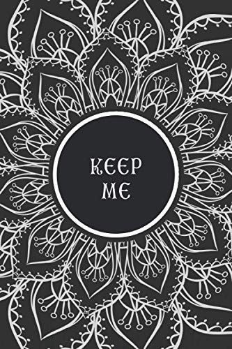 Keep Me: Discreet Cover Address & Password Record Keeper   Contacts, Internet Logins, Passwords and Birthdays or Important Dates Organizer & Manager