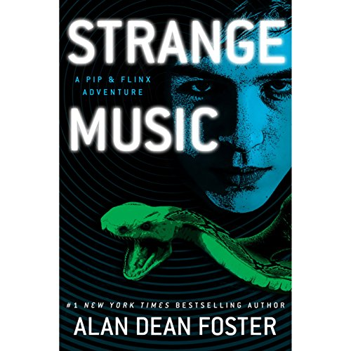 Strange Music audiobook cover art