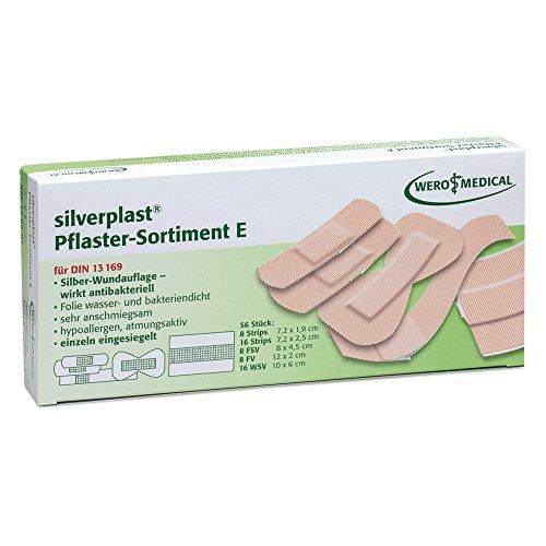 silverplast Pflaster Sortiment E (56 Stk./Pkg)
