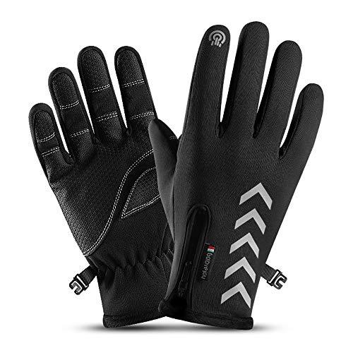 Dizadec Winter Gloves Men Women Tou…