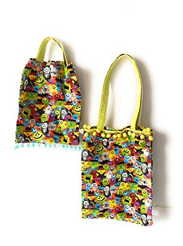 Tote bag algodón multiusos. Bolso de hombro. 100% Handmade. Diseño único