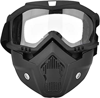 LFLF (Transparent Sports De Neige d'hiver Snowboard Snowboard Moto Full Visage Masque Gogles Lunettes