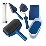 Paint Roller Kit 8 Pcs Paint Runner Set Paint Runner Pro Paint Roller