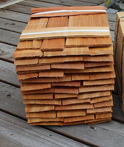Lärchenholzschindeln 40cm 2. Qualität, Bundinhalt 8 Breitenmeter