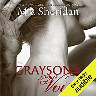 Grayson's Vow                   By:                                                                                                                                 Mia Sheridan                               Narrated by:                                                                                                                                 Maxine Mitchell,                                                                                        Joe Arden                      Length: 13 hrs and 19 mins     1,249 ratings     Overall 4.4
