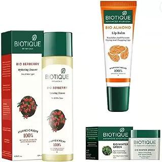 Biotique Bio Berberry Hydrating Cleanser For All Skin Types, 120ml|Bio Winter Green Spot Correcting Anti Acne Cream, 15g|B...