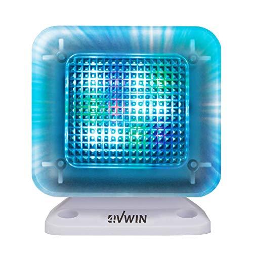 4VWIN TV-Simulator, Diebstahlschutz, mit integriertem digitalem Timer und Nachtlicht