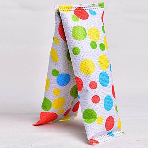 Tasche aus Aktivkohle zur Geruchsentfernung von Schuhen, aus saugfähigem Stoff, farbig, 2 Stück