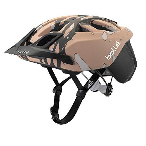 bollé The One, Casco de Bicicleta Unisex Adulto, Unisex Adulto, The One, Nero/Brown Camo, L