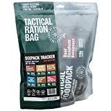 Tactical Foodpack - Tracker | gefriergetrocknete Premium Mahlzeiten - Instant Outdoor Nahrung für Camping, Trekking und Büro | Natürliche Zutaten, schnelle Zubereitung, Lange Haltbarkeit