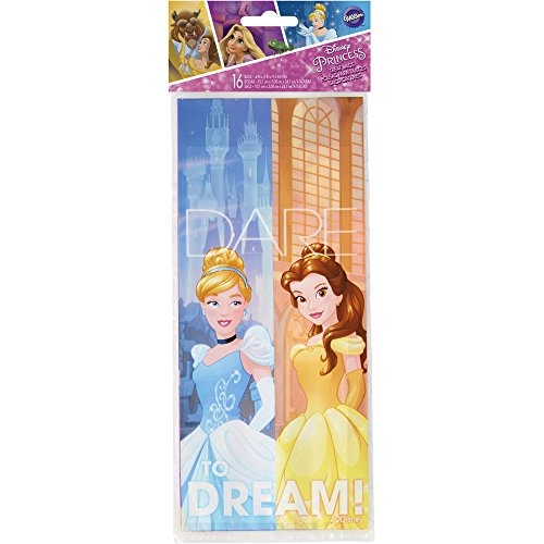 Wilton 1912-7490 Disney Princess Treat Bags, Assorted