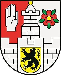 U24 Aufkleber Altenburg Wappen Autoaufkleber Sticker Konturschnitt