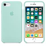 Funda para iPhone 7/8 Carcasa Silicona Suave Colores del Caramelo con Superfino Pelusa Forro,Anti-rasguños Teléfono Caso para Apple iPhone 7/8 (iPhone 7/8, Verde mar)