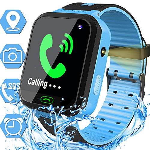 Waterproof Kids Smart Watch for Boys Girls GPS Tracker Smartwatch Phone Kids...