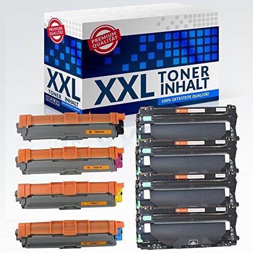 4 Trommel + 4 Toner Set IBC für Brother HL-3170 CDW/HL-3172 CDW/MFC-9130 CW/MFC-9140 CDN/MFC-9142 CDN