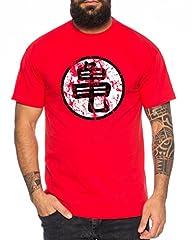 WhyKiki Sign Goku Roshis Turtle School Camiseta de Hombre