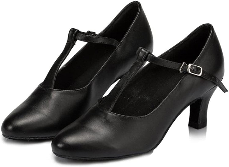 Frau tanzschuhe leder lateinisch tango salsa samba tango ballsaal geschlossene zehe weich wildleder sohlen schnalle sandalen schwarz high heels