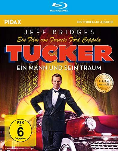 Tucker - Ein Mann und sein Traum / Francis Ford Coppolas preisgekrönte Lebensgeschichte von Preston Tucker (Pidax Historien-Klassiker) [Blu-ray]