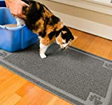 CleanHouse Pets Cat Litter Mat, XL Size, Non-Slip, Easy to Clean, Stops All Litter Tracking, No Phthalate, Durable, Soft on Kitty Paws, Scatter Control for Cat Litter Box, Water Resistant (36'x24')
