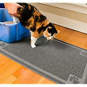 CleanHouse Pets Cat Litter Mat, XL Size, Non-Slip, Easy to Clean, Stops All Litter Tracking, No Phthalate, Durable, Soft…