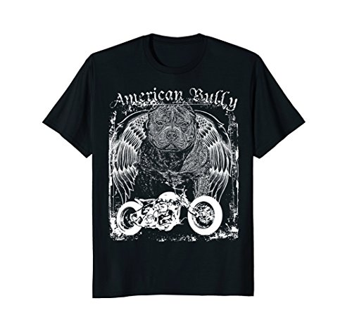 Americana American Bully Breed Motorcycle bobber t shirt