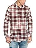 Jack & Jones JJVGRANBY Shirt L/S One Pocket Camisa, (Burnt Henna), Medium para Hombre