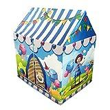 Home experience- Kinder Tragbare Spielzelt zirkus Zimmer Kinder Spielzeug Spielhaus für indoor...