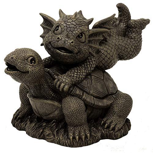 MystiCalls by Mayer Chess Gartendrache Turtle - Garten, Figur, Schildkröte