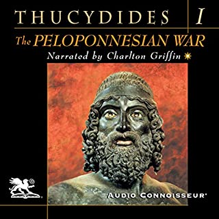 The Peloponnesian War, Volume 1 audiobook cover art