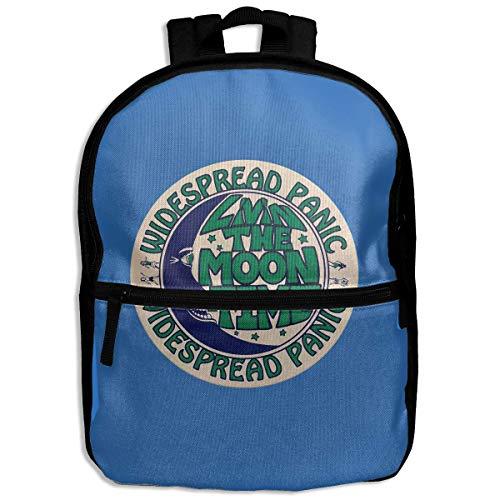Kinder-Rucksack, breiter Panik-Weltraum-Wrangler, Schule, Wandern, Reisen, Schultertasche, Mini-Tagesrucksack für Jungen und Mädchen