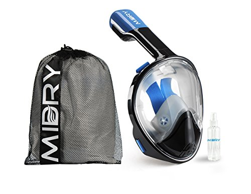 MIDRY Full Face Snorkel Mask