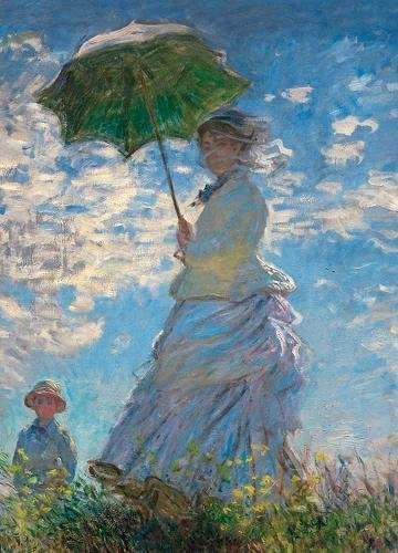 Woman with a Parasol Notebook product image