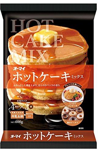 『オーマイ ホットケーキミックス 600g』のトップ画像