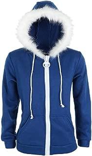 Adult Kids Sans Blue Jacket Hoodies Costume Halloween Cosplay Plush Zipper Hooded Sweatshirt Outwear Cotton