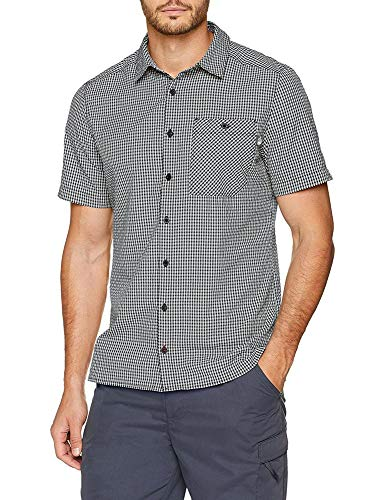 The North Face S/S HypreSS St Camisa, Hombre, Asphalt Grey, M
