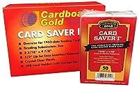 カードセーバー1 - セミリジッド カードホルダー グレーディング カード提出用 - 50枚パック 1点
